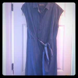 Tommy Hilfiger denim wrap dress